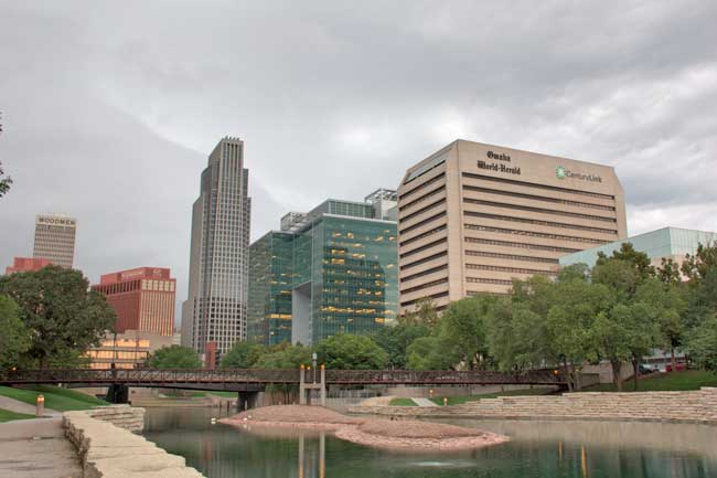 Omaha is the largest city in the state of Nebraska, with a total population of 408,958 inhabitants.